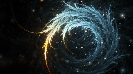swirling feather