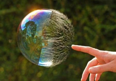 Vulnerable bubble
